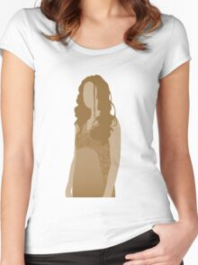 river tam, firefly Women's Fitted Scoop T-Shirt