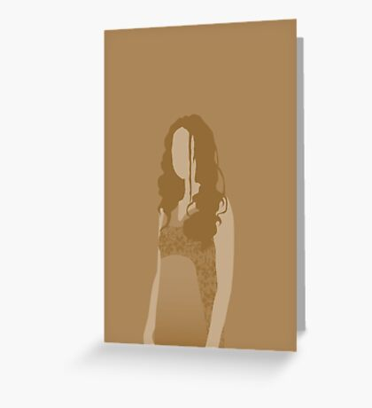 river tam, firefly Greeting Card