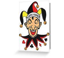 Joker Greeting Card