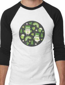 Irish Eyes Men's Baseball ¾ T-Shirt
