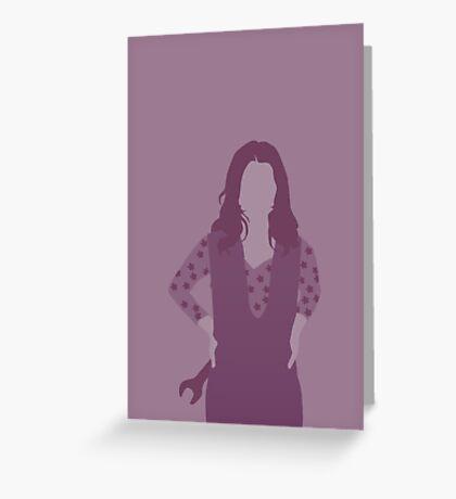 kaylee, firefly Greeting Card