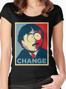 Randy Marsh Change Women's Fitted Scoop T-Shirt