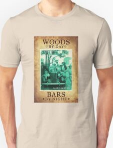 Woods By Day Bars By Night T-Shirt