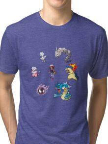 Heart Gold Team Tri-blend T-Shirt