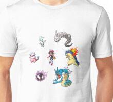 Heart Gold Team Unisex T-Shirt