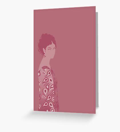 inara, firefly Greeting Card