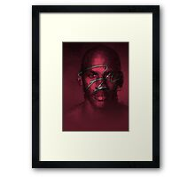 FLY - NBA Michael Jordan Bulls Polygon Art Framed Print
