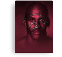 FLY - NBA Michael Jordan Bulls Polygon Art Canvas Print
