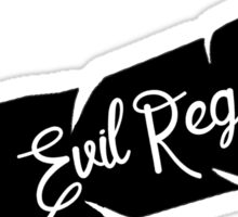 Evil Regals - Feather Sticker
