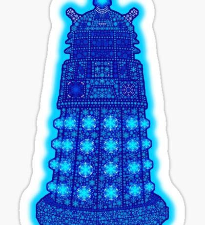 Snowflake Dalek Sticker