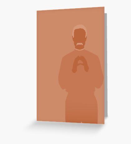 shepherd book, firefly Greeting Card