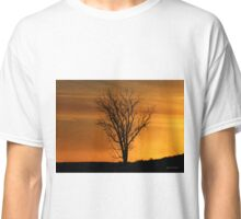 At End of Day II (Art & Poetry) Classic T-Shirt