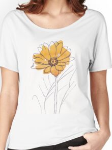 Cheerful Gerbera daisy (Gerbera jamesonii) Women's Relaxed Fit T-Shirt