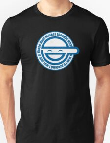 Laughing Ghost in the  Shell T-Shirt