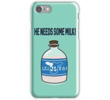 He needs some Lon Lon milk! iPhone Case/Skin