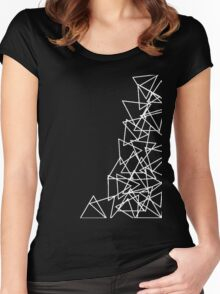Triangle Madness Women's Fitted Scoop T-Shirt