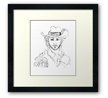 BBC's The Musketeers: Aramis Portrait Framed Print