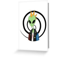 I Was A Teenage Alien Greeting Card