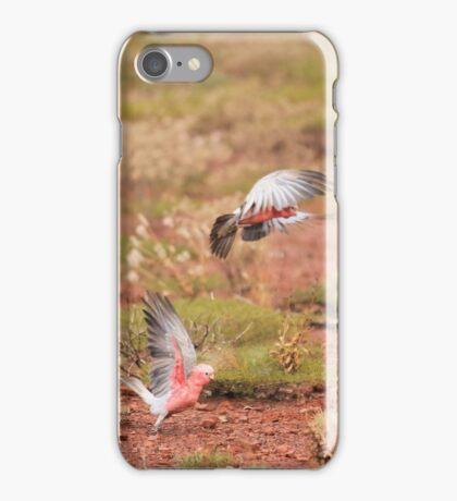 Pink and Grey iPhone Case/Skin