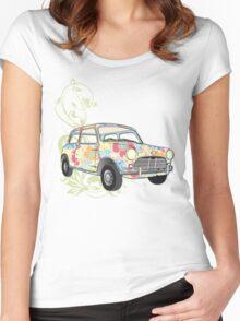 Mini Mini Women's Fitted Scoop T-Shirt