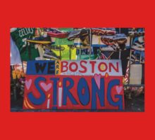 We are Boston Strong One Piece - Short Sleeve
