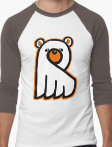 Ghost Bear IV Men's Baseball ¾ T-Shirt