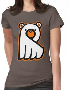 Ghost Bear IV Womens Fitted T-Shirt