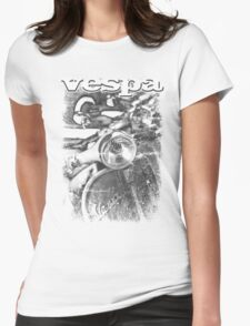 VINTAGE POSTER  Womens Fitted T-Shirt