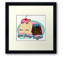 Box Jump Truffles Framed Print