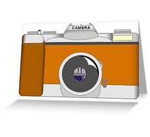 SLR Camera Greeting Card