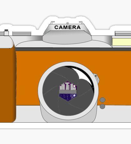 SLR Camera Sticker