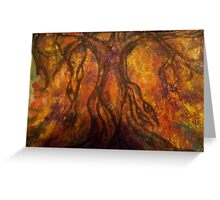 Roots in the Earth Greeting Card