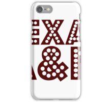 Texas A&M iPhone Case/Skin