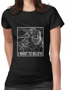 I Want To Believe - Bloodborne Womens Fitted T-Shirt