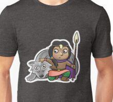 Wolf and Huntress Unisex T-Shirt