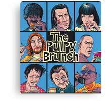 The Pulpy Brunch Canvas Print