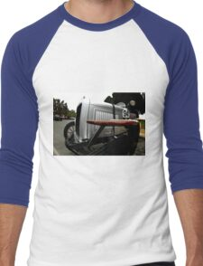 Birdseye view of Willys Overlander 1922 Men's Baseball ¾ T-Shirt