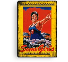 CLASSIC POSTER : SOME GIRLS Canvas Print