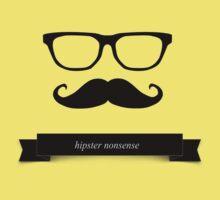 hipster nonsense One Piece - Short Sleeve