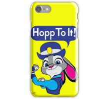 Hopp To It! iPhone Case/Skin