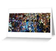 Abstract composition 111 Greeting Card