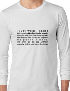 Perfect Relationship Long Sleeve T-Shirt
