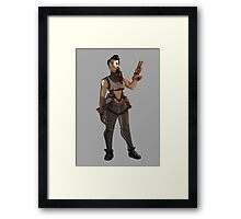 Explorer Adventurer  Framed Print