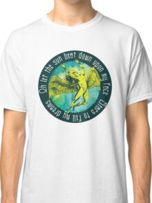 ICARUS THROWS THE HORNS - kashmir Classic T-Shirt