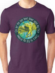 ICARUS THROWS THE HORNS - kashmir Unisex T-Shirt