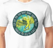 ICARUS THROWS THE HORNS - kashmir Unisex T-Shirt