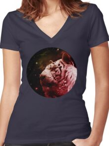 Star Queen Women's Fitted V-Neck T-Shirt