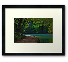 The Path of the Water Framed Print