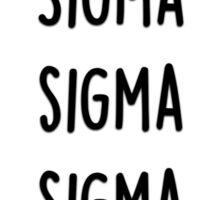 Sigma Sigma Sigma Sticker