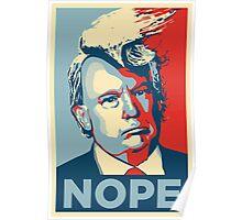 Donald Trump - NOPE Poster